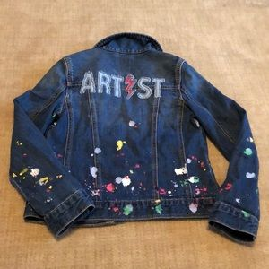 "Other - Gap kids limited ""artist"" splatter paint jacket"